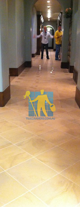 traditional entry with large porcelain tiles were laid in a basketweave pattern Adelaide